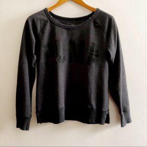 Puma Grey Long Sleeve Sweatshirt